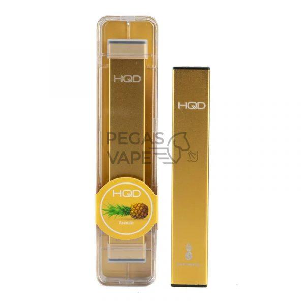 Фото 8 - Электронная сигарета HQD Ultra Stick 500 (Ананас). Купить в Красногорске, Москве и МО. Доставка по России и СНГ