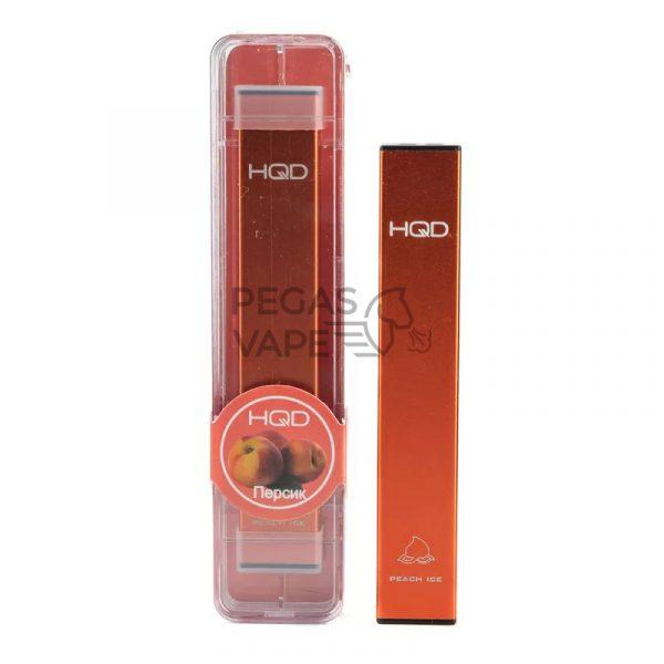 Фото 4 - Электронная сигарета HQD Ultra Stick 500 (Персик). Купить в Красногорске, Москве и МО. Доставка по России и СНГ
