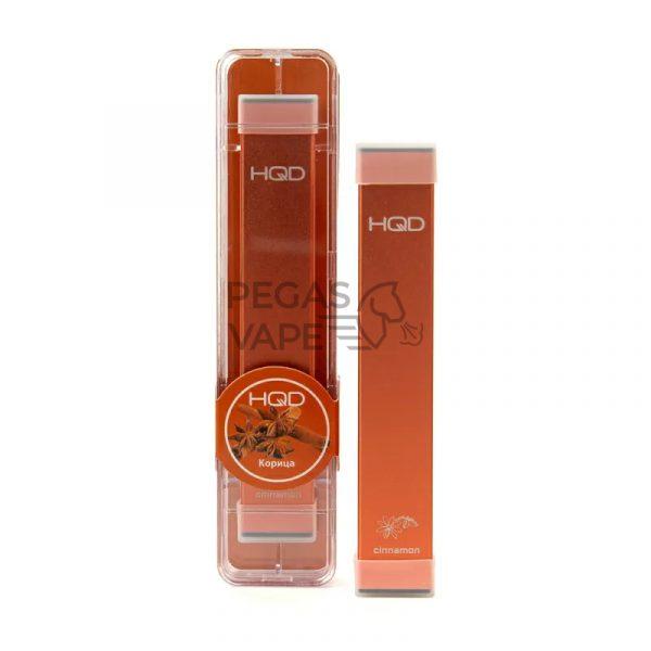 Фото 8 - Электронная сигарета HQD Ultra Stick 500 (Корица). Купить в Красногорске, Москве и МО. Доставка по России и СНГ