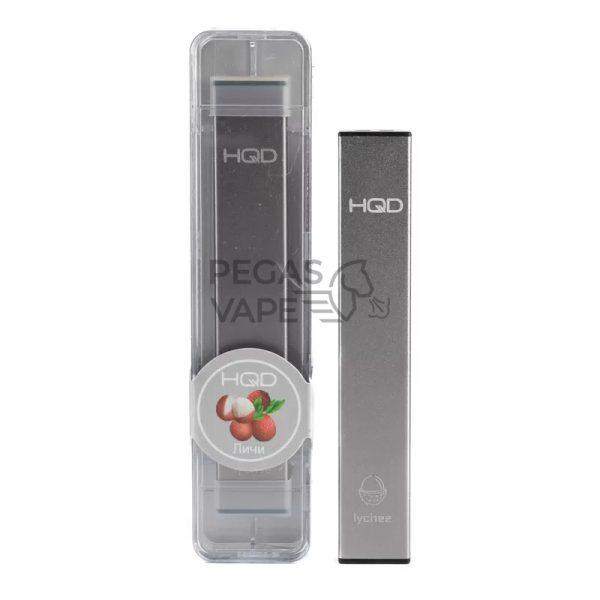 Фото 8 - Электронная сигарета HQD Ultra Stick 500 (Личи). Купить в Красногорске, Москве и МО. Доставка по России и СНГ