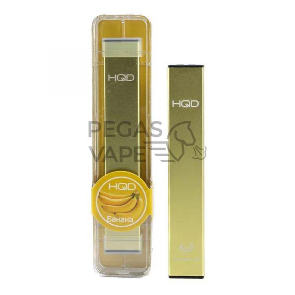 Фото 4 - Электронная сигарета HQD Ultra Stick 500 (Банан). Купить в Красногорске, Москве и МО. Доставка по России и СНГ