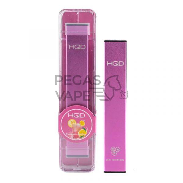 Фото 9 - Электронная сигарета HQD Ultra Stick 500 (Розовый лимонад). Купить в Красногорске, Москве и МО. Доставка по России и СНГ