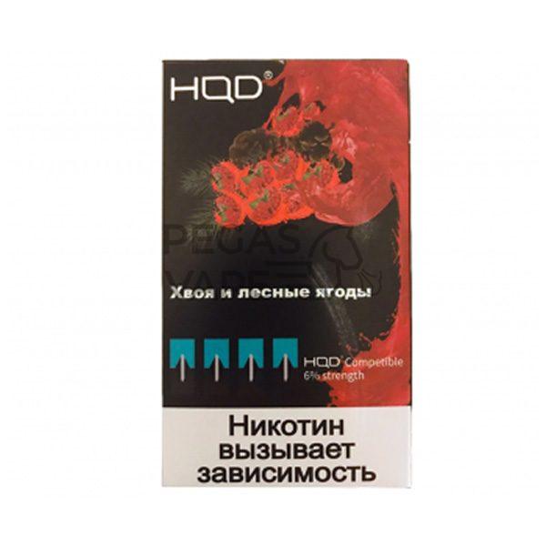 Фото 3 - Капсула HQD 4 шт (Сибирь Хвоя и лесные ягоды). Купить в Красногорске, Москве и МО. Доставка по России и СНГ