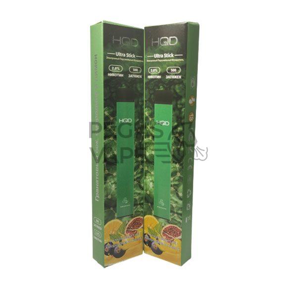 Фото 1 - Электронная сигарета HQD Ultra Stick 500 (Манго). Купить в Красногорске, Москве и МО. Доставка по России и СНГ