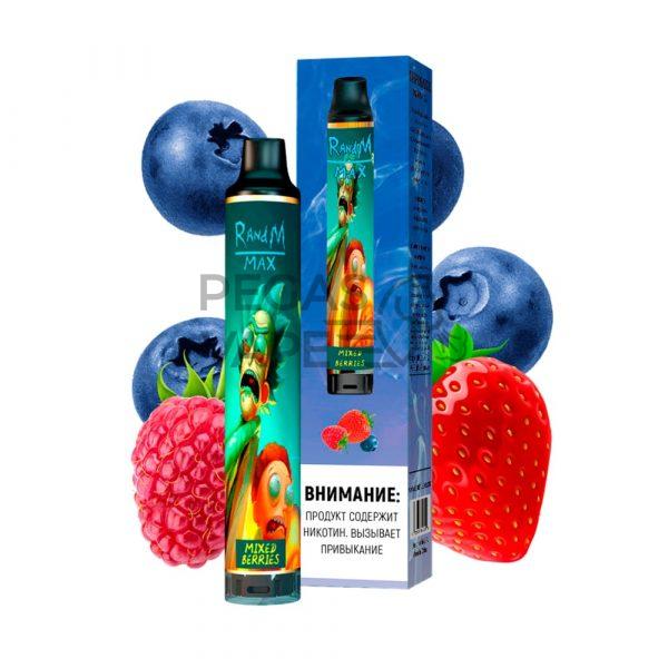 Фото 13 - Электронные сигареты 1700 RandM Max Лесные ягоды. Купить в Красногорске, Москве и МО. Доставка по России и СНГ