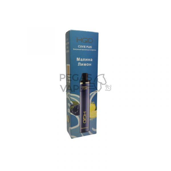 Фото 8 - Электронная сигарета HQD Cuvie Plus 1200 (Малина Лимон). Купить в Красногорске, Москве и МО. Доставка по России и СНГ
