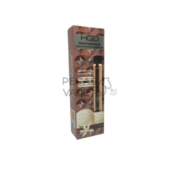 Фото 4 - Электронная сигарета HQD King 2000 Ванильное мороженое. Купить в Красногорске, Москве и МО. Доставка по России и СНГ