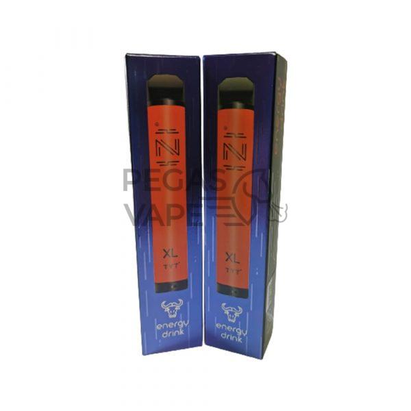 Фото 3 - Электронная сигарета IZI XL 1800 (Энергетик). Купить в Красногорске, Москве и МО. Доставка по России и СНГ