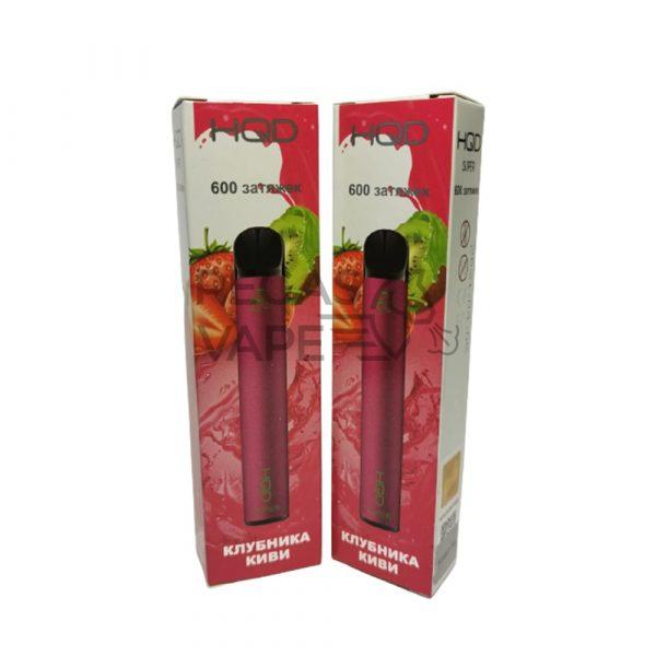 Фото 7 - Электронная сигарета HQD Super 600 (Клубника-Киви). Купить в Красногорске, Москве и МО. Доставка по России и СНГ
