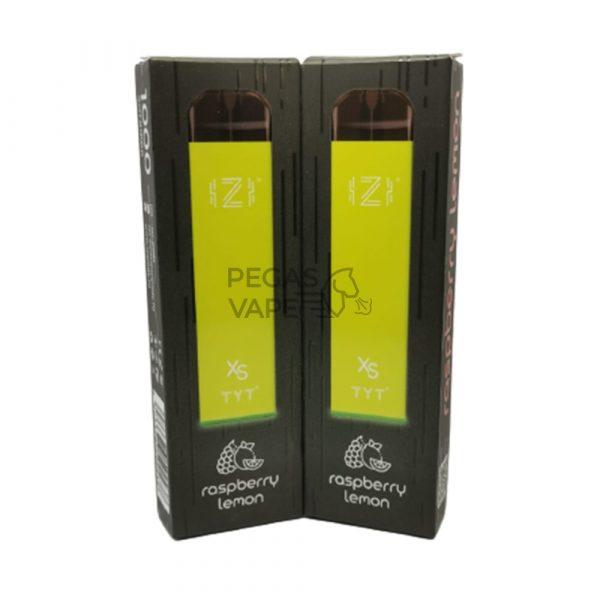Фото 6 - Электронная сигарета IZI XS 1000 Малина Лимон. Купить в Красногорске, Москве и МО. Доставка по России и СНГ
