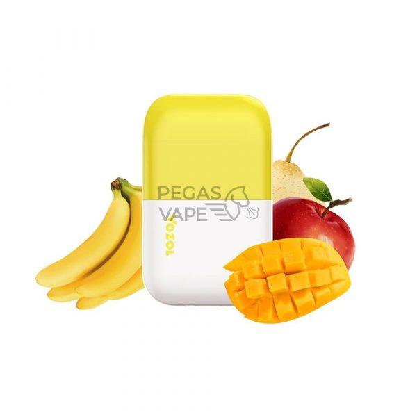 Фото 4 - Электронная сигарета VOZOL D6 1000 Банановый лед-манго яблоко груша. Купить в Красногорске, Москве и МО. Доставка по России и СНГ
