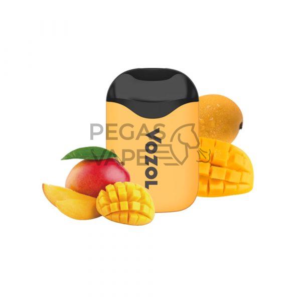 Фото 7 - Электронная сигарета VOZOL D5 1000 Ледяное манго. Купить в Красногорске, Москве и МО. Доставка по России и СНГ