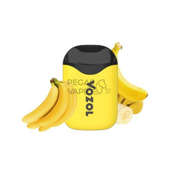 Фото 6 - Электронная сигарета VOZOL D5 1000 Банановый лед. Купить в Красногорске, Москве и МО. Доставка по России и СНГ
