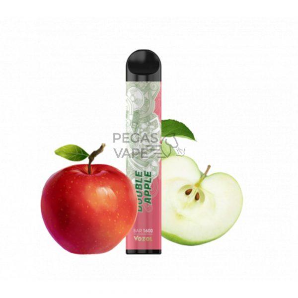 Фото 9 - Электронная сигарета VOZOL BAR 1600 Двойное яблоко. Купить в Красногорске, Москве и МО. Доставка по России и СНГ
